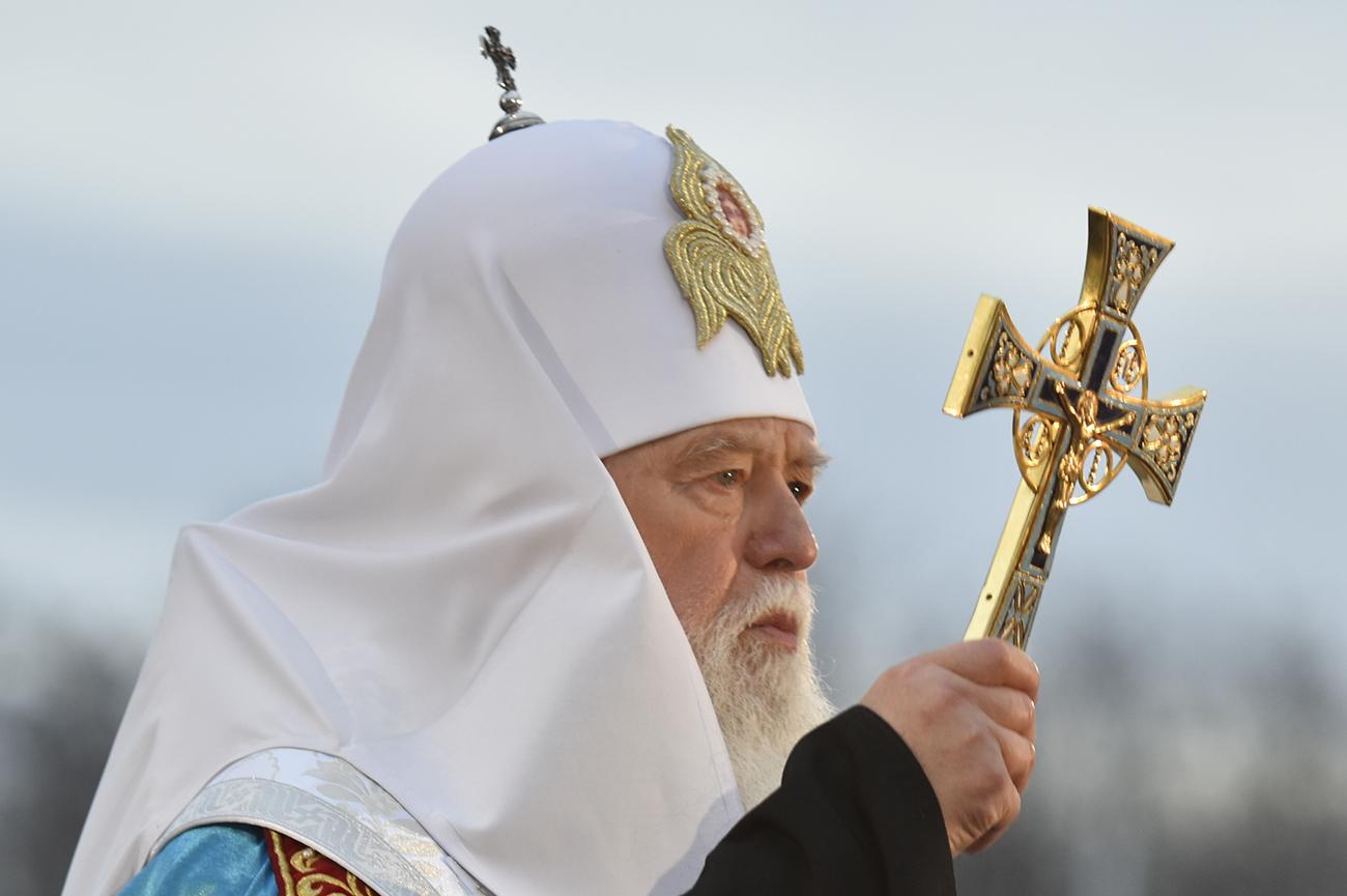 Киевский патриархат выдвинул на главу новой церкви наследника Филарета