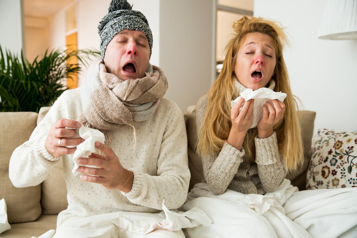 ученых картинки грипп болею можно видеть