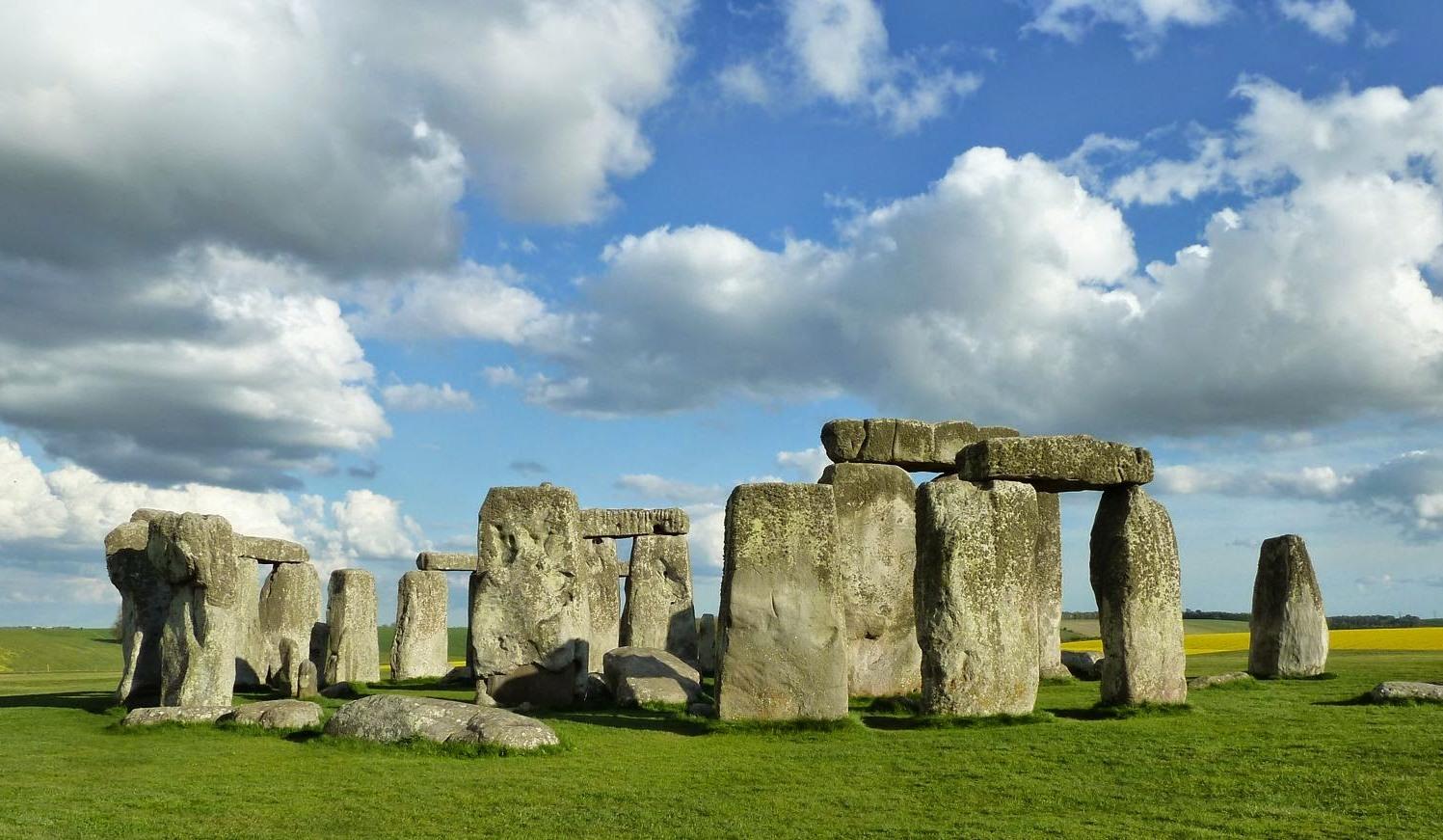 Foto del cerchio di stonehenge 62