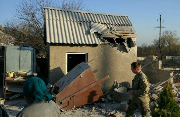 Жебривский: Боевики обстреляли Авдеевку