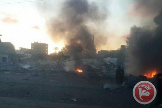 Израиль нанес удар по позициям ХАМАС в Секторе Газа