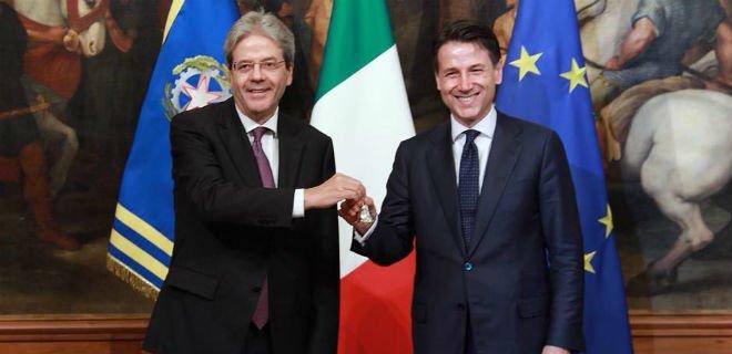 Серджо Маттарелла и Джузеппе Конте. Фото: facebook.com/GiuseppeConte64