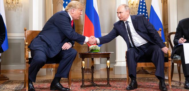 Путин предложил Трампу провести в Донбассе референдум - Bloomberg - Фото