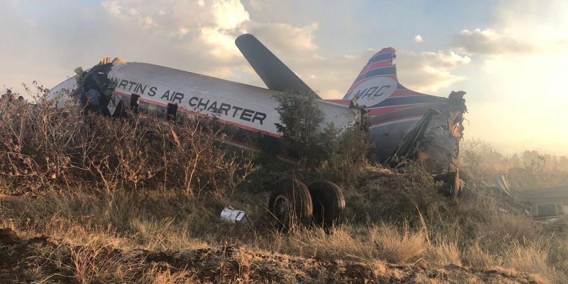 Видео падения самолета #1