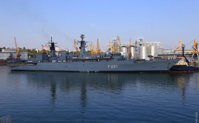 В Одессу прибыли корабли НАТО: фоторепортаж
