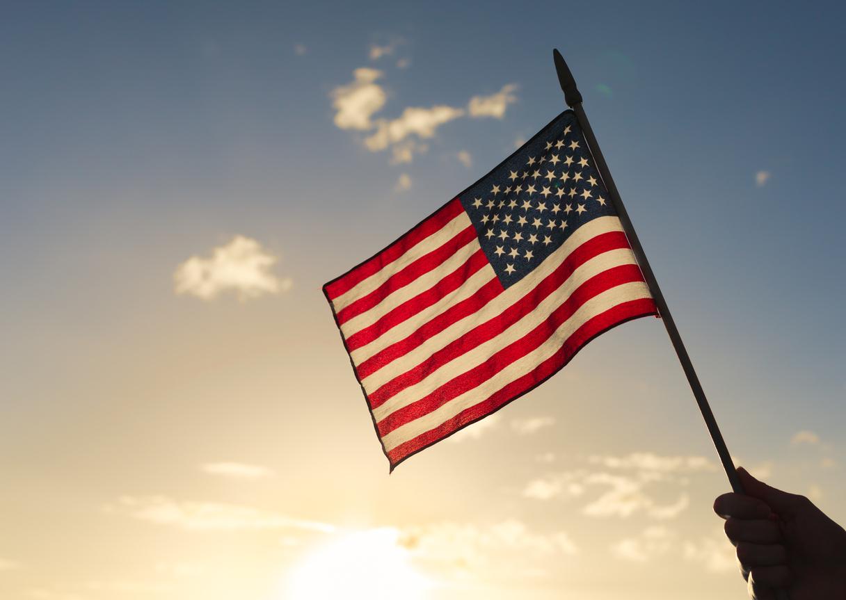 флаг америки картинки просто