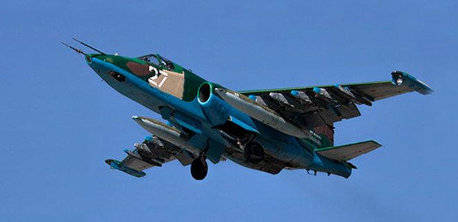В Армении разбился штурмовик Су-25