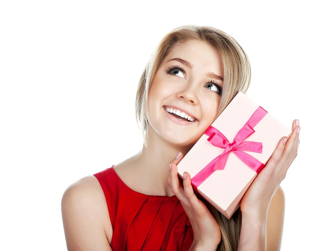 Прикольные картинки подарки женщинам