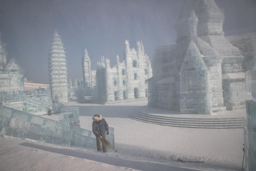 В Китае открылся Международный фестиваль льда и снега: фото