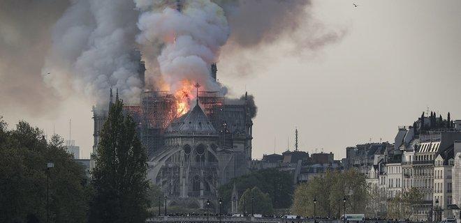 Image result for Названа вероятная причина пожара в Нотр-Даме