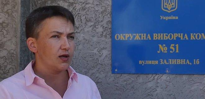 Савченко собирается ехать агитировать в оккупированную Горловку - Фото