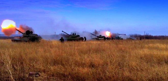 Число обстрелов в Донбассе подбирается к полусотне за сутки - Фото
