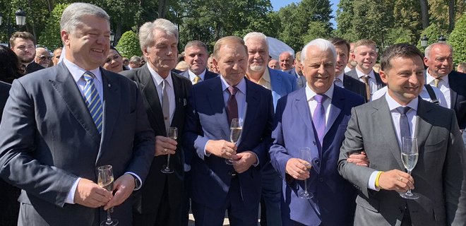 Петр Порошенко приехал на торжественный прием к Владимиру ...