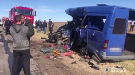 ДТП с маршруткой в Одесской области, погибли 9 человек: видео