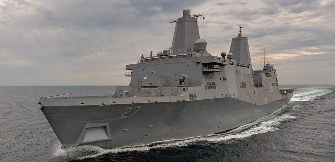 На корабль ВМС США установят первый в мире боевой лазер: фото - Фото