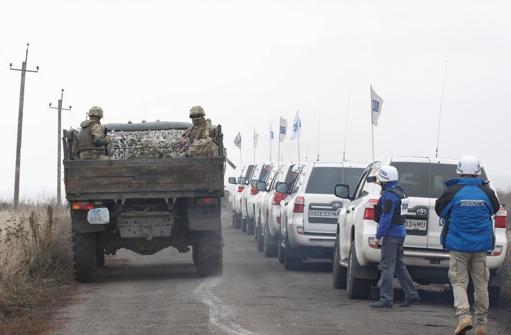 В ЕС отреагировали на разведение войск в Донбассе