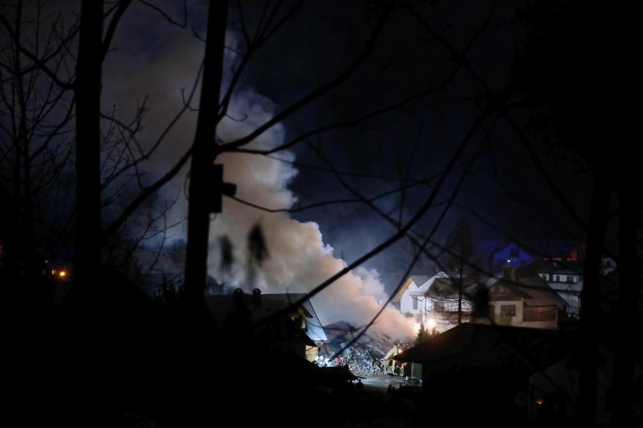 Число погибших  взрыва газа вдоме вПольше выросло до  8-ми  человек