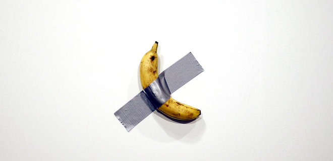 В США продали банан со скотчем за $120 000: фото - Фото