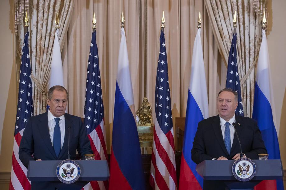 Трамп и Помпео обсудили с Лавровым Украину: что говорили