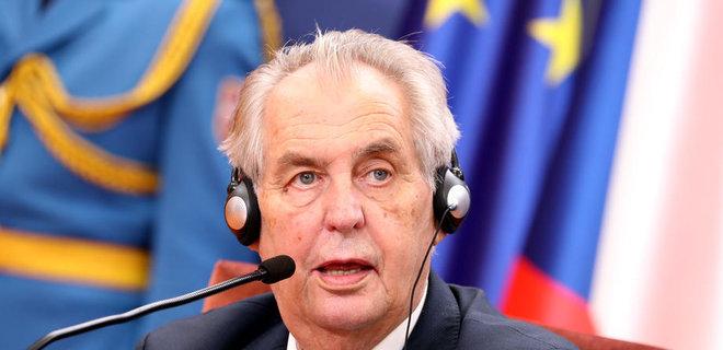 Сенат Чехии может обвинить Земана в государственной измене - Фото