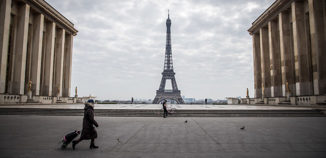 Во Франции — резкий скачок смертности от коронавируса