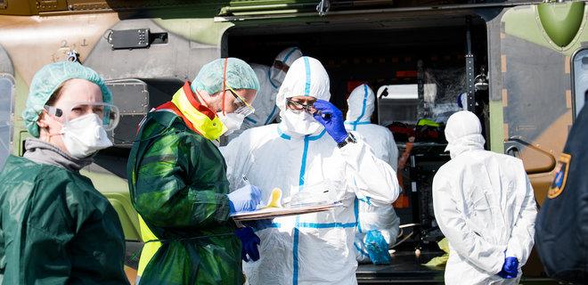 Во Франции третий день подряд растет смертность от коронавируса