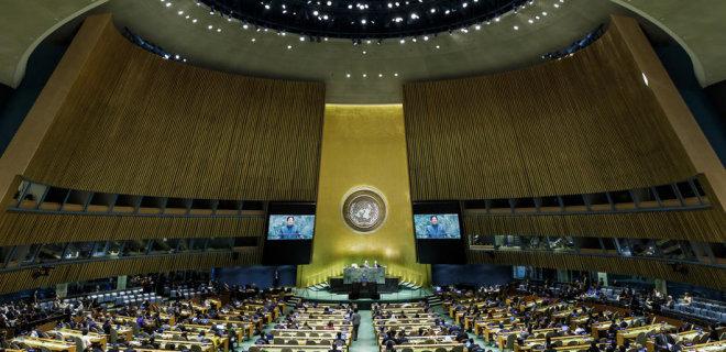 Армения, Беларусь, Зимбабве. Кто был против украинского проекта резолюции ГА ООН по Крыму  - Фото