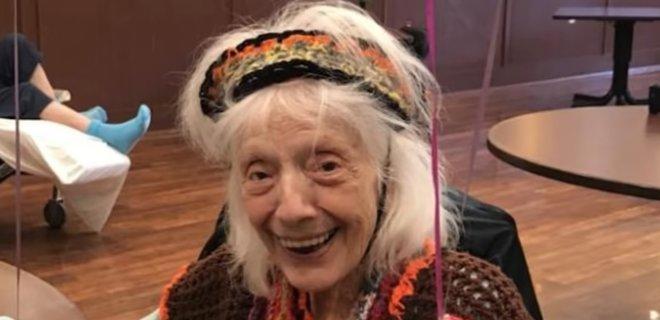 101-летняя американка победила коронавирус. Это вторая пандемия в ее жизни