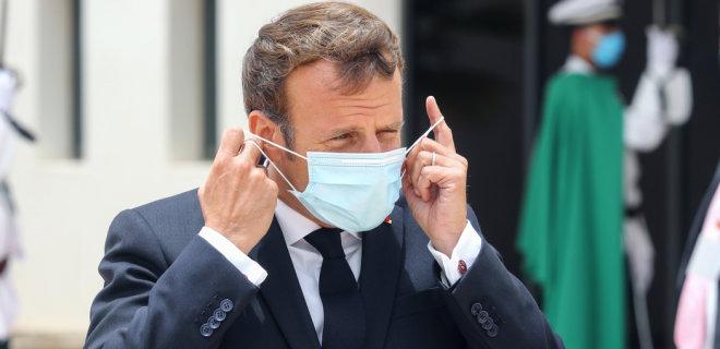 Макрон в третий раз ввел локдаун во Франции - Фото