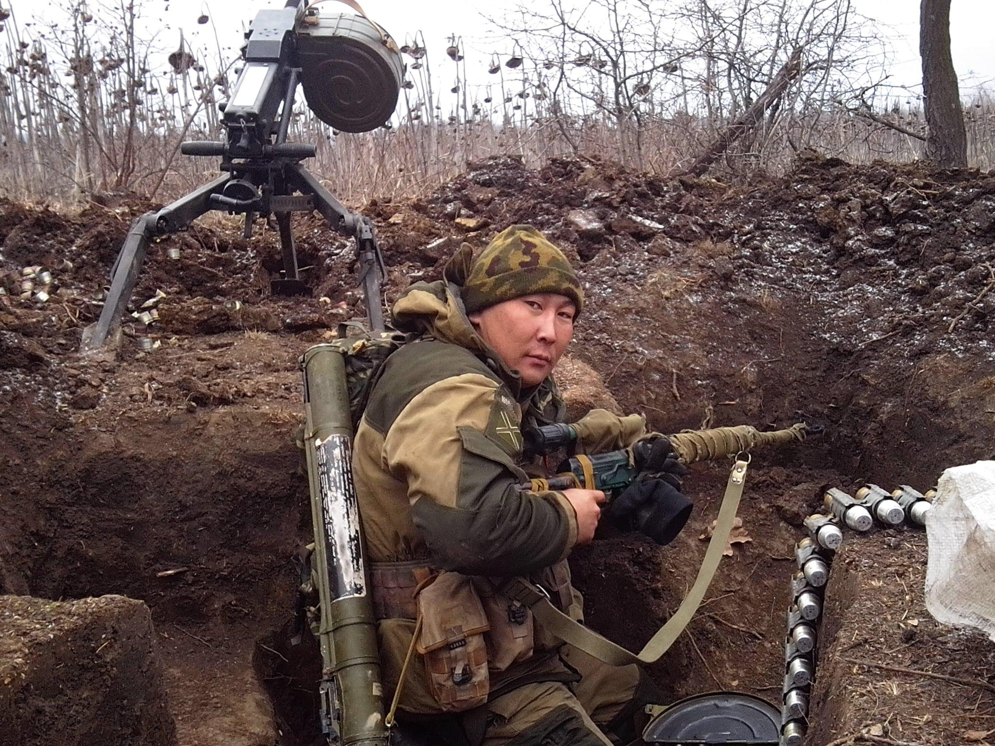 """Военные показали снимки """"восставших шахтеров Донбасса"""" активной фазы войны:  фото - новости Украины, Мир - LIGA.net"""