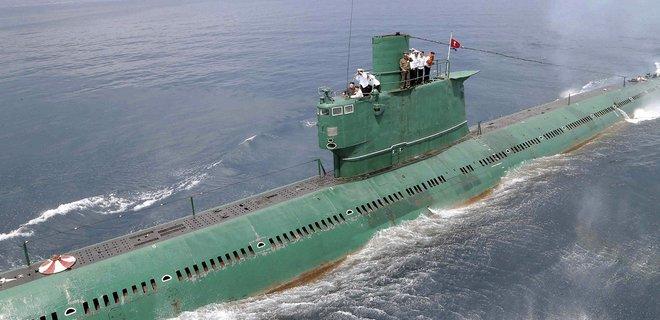 Северная Корея достроила подлодку: та способна нести ядерные боеголовки - разведка южан - Фото