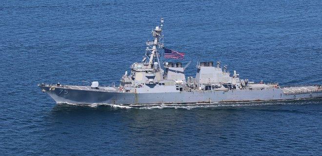 Американский эсминец USS Donald Cook направляется в Черное море - Фото