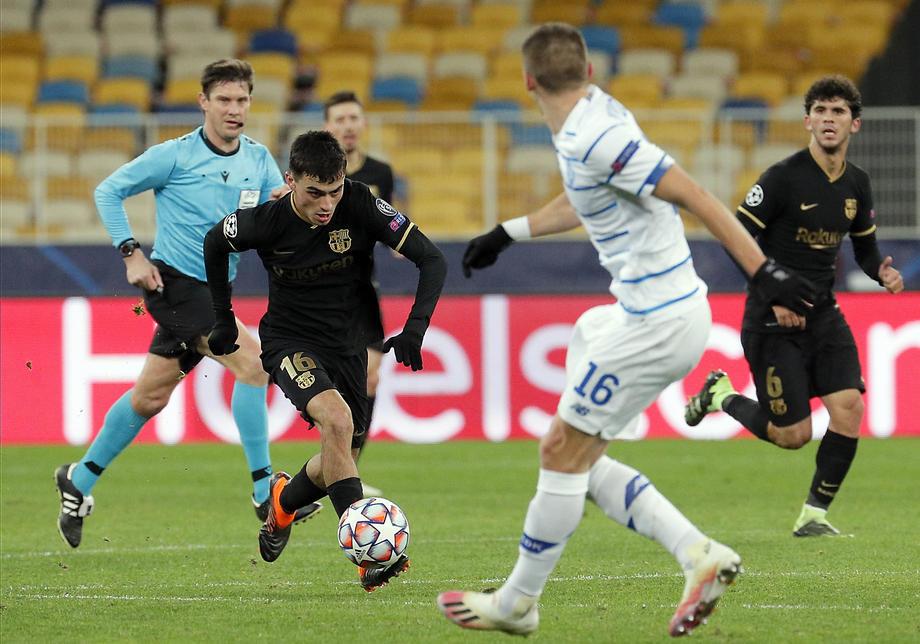 Liga Chempionov Uefa Dinamo Kiev Barselona 0 4 Goly Statistika Hod Matcha Foto Novosti Ukrainy Sport Liga Net