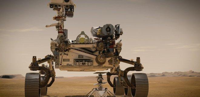 Perseverance запечатлел ночное небо над Марсом и его спутник Фобос: фото - Фото