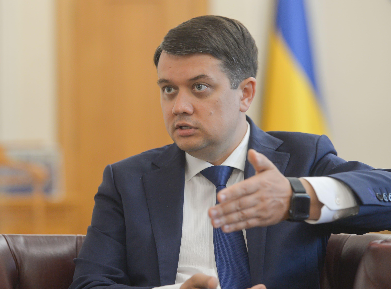 Когда проголосуют закон об олигархах: Дмитрий Разумков и Слуга народа  разошлись во мнениях - новости Украины, Политика - LIGA.net