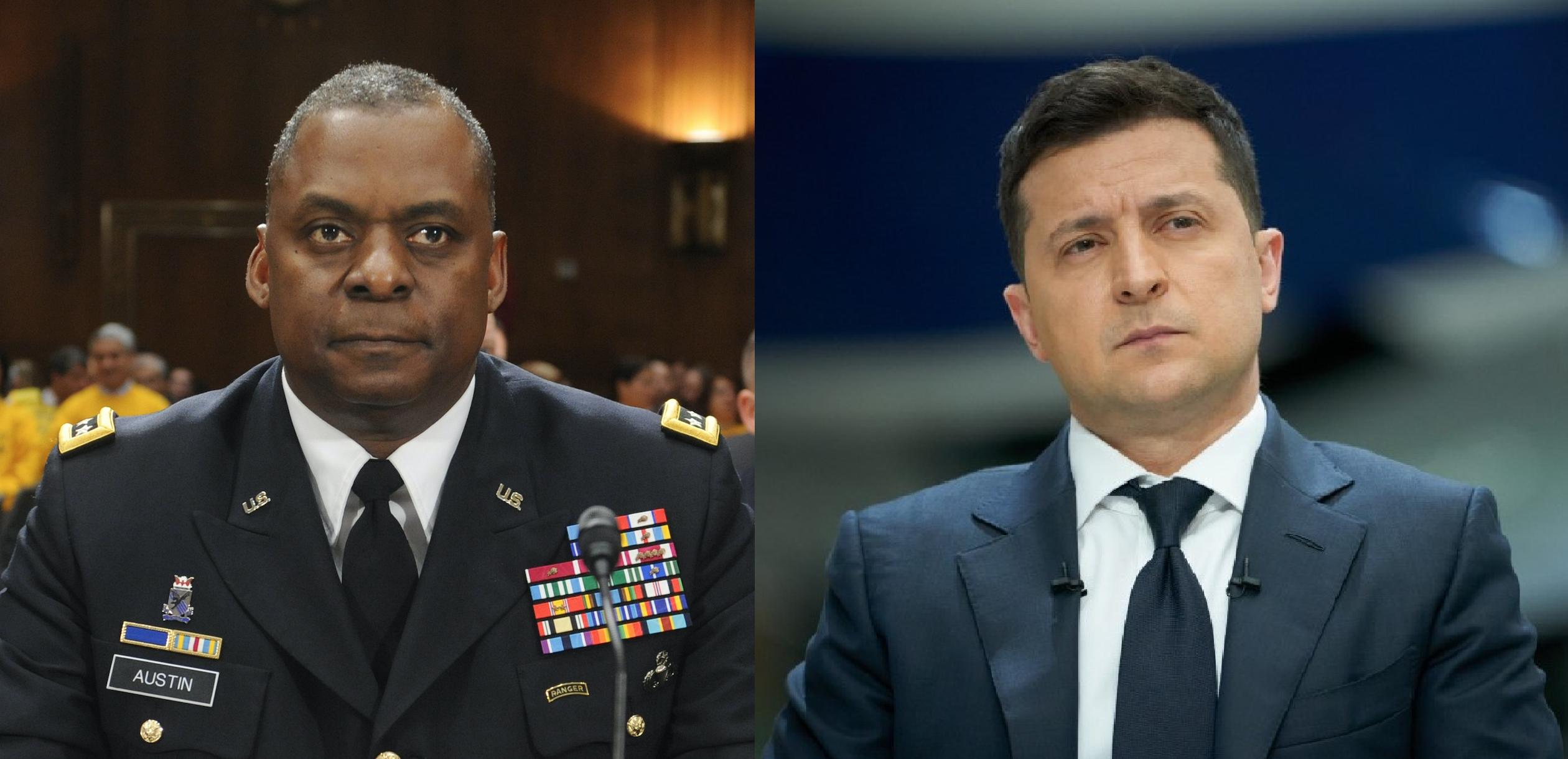 Зеленский встретится с главой Пентагона Остином за день до визита в Белый  дом к Байдену - новости Украины, Политика - LIGA.net