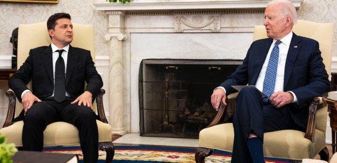 Встреча Зеленского и Байдена закончилась. Вместо 45 минут говорили больше двух часов - новости Украины, Политика - LIGA.net