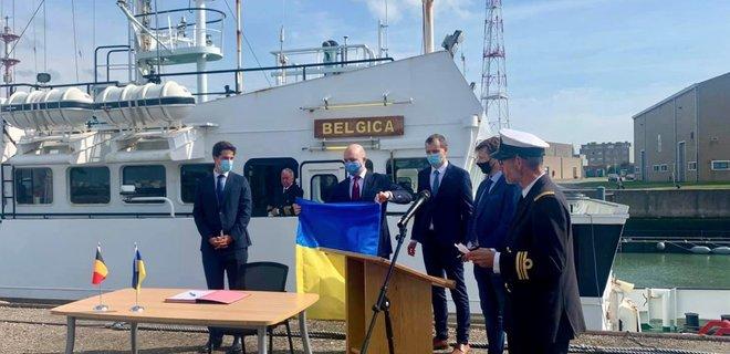 Бельгия передала Украине легендарное научно-исследовательское судно: фото - Фото
